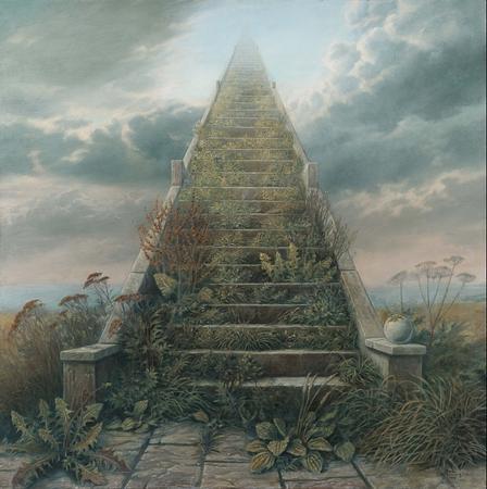Obraz Schody do nieba, Marcin Kołpanowicz DAGMA ART