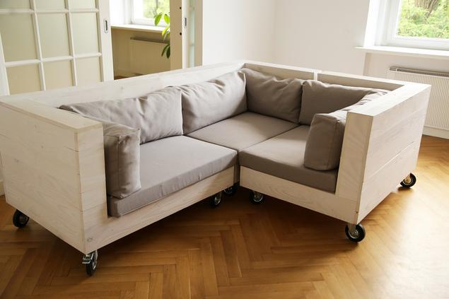 Sofa modułowa - wiele rozwiązań w jednym meblu