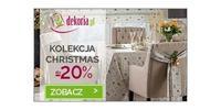 Kolekcja Christmas do -20% taniej! Zobacz >>